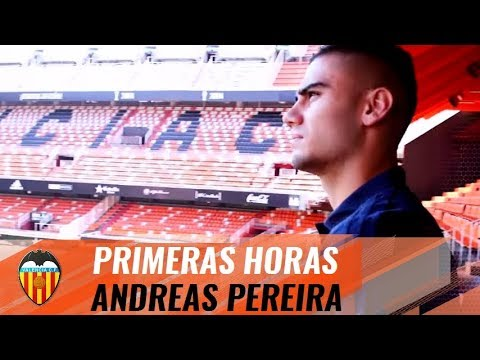 ANDREAS PEREIRA'S FIRST HOURS IN VALENCIA   VCF INSIDE