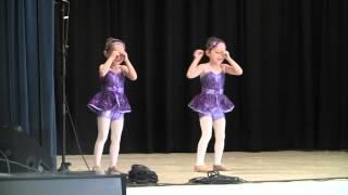 Blue Ribbon Bunny Jazz Dance