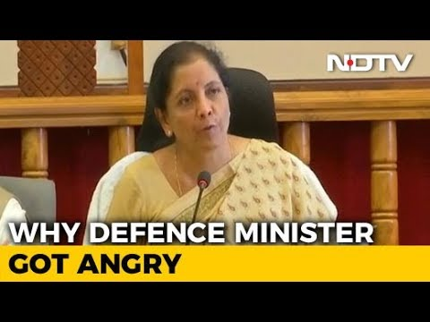 """Unbelievable"": Nirmala Sitharaman Loses Her Cool At Karnataka Minister"
