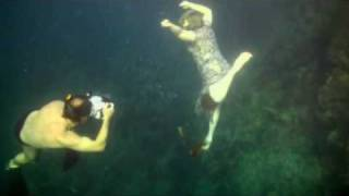 Подводная фотосессия на Фестивале