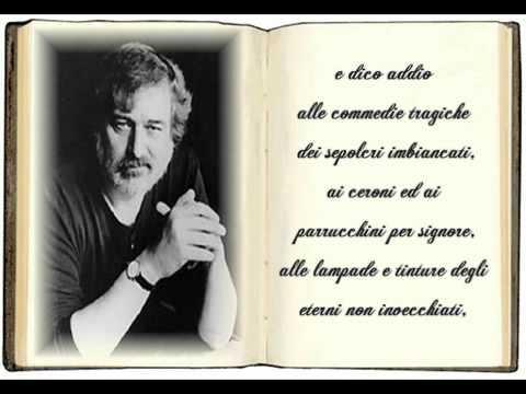 Addio ... Francesco Guccini