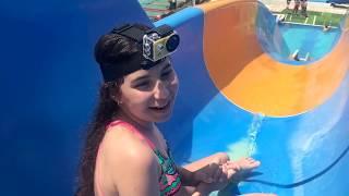Aquapark Dev Kaydıraklarda Heyecan Dorukta