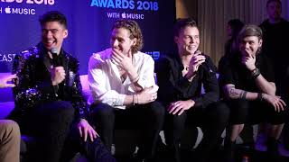 5 Seconds of Summer: Backstage at ARIAs 2018 (5SOS Uncut) Video