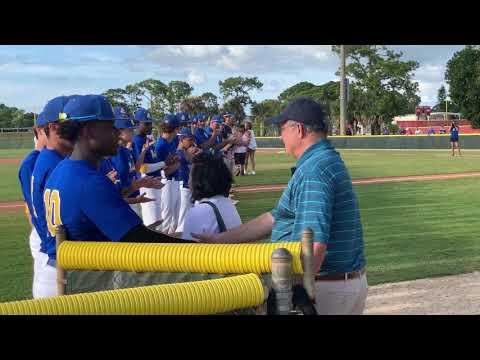 2019 John Carroll Catholic High School Military Appreciation baseball game