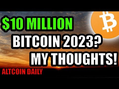 10 Million Bitcoin By 2023? Crash Course History Makes It Seem Possible! [Cryptocurrency News]