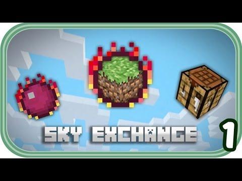 Neue Insel, neues Glück - Minecraft Sky Exchange #001 - Deutsch - Chigocraft