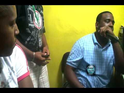 El Boy C Dj Pirata En La Radio 107 7 FM Con Dj Anthony   La Ceiba Honduras