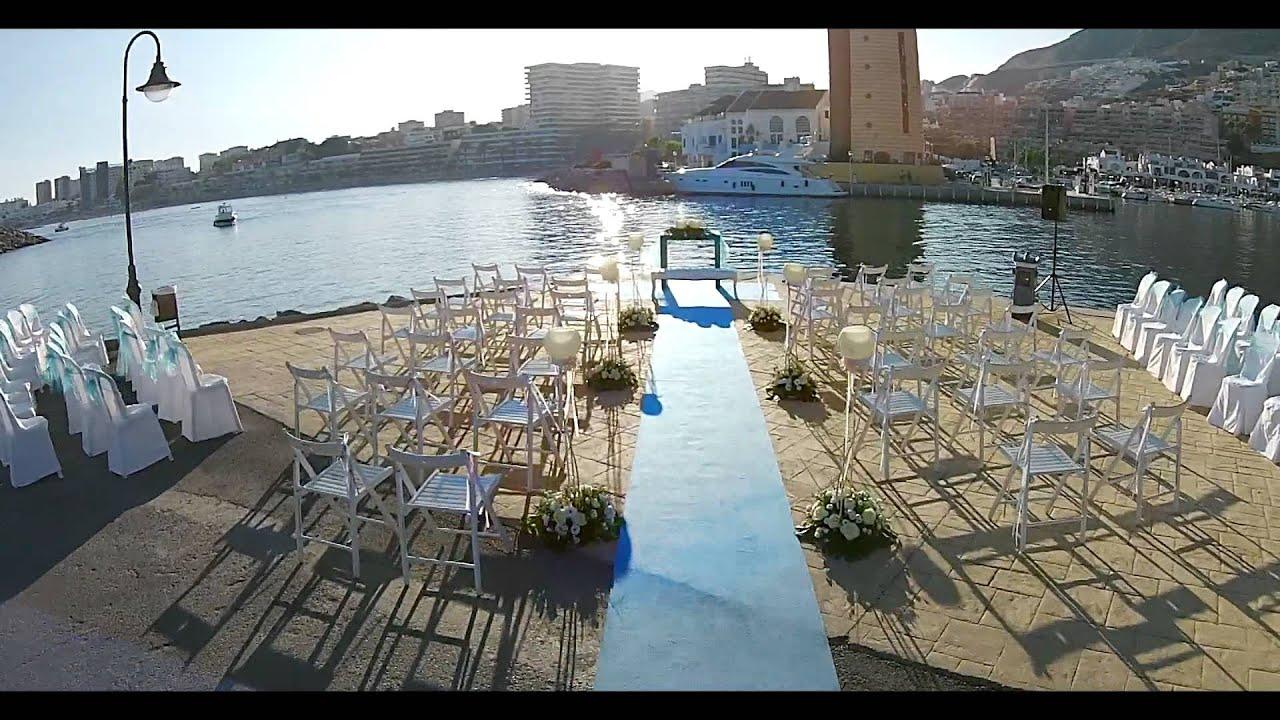 Tortosa floristas decoraci n floral para boda en club - Decoracion almeria ...