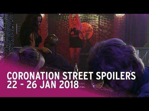 Coronation Street spoilers: 22-26 January 2018 - Corrie