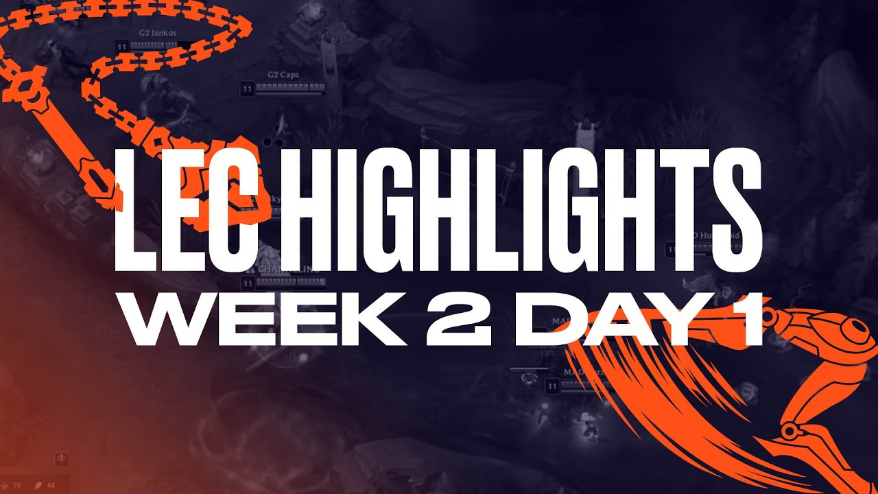 Full Day Highlights | W2D1 | 2021 LEC Summer
