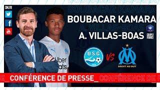 VIDEO: US Granville  OM - La conférence de presse de Boubacar Kamara & d'André Villas-Boas