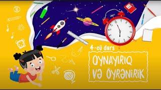 Oynayırıq və Öyrənirik: Həşəratlar (Dərs 4)