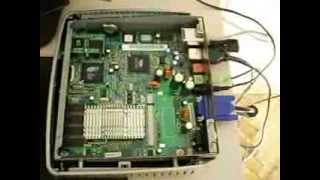 Hp Compaq T5000 Thin Client Running Puppy Linux