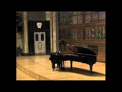 Inon Barnatan plays Schubert 958: III mvt