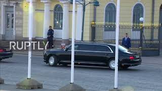 Finland: Putin leaves Helsinki after talks with Trump