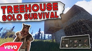 Video MY OWN TREEHOUSE BASE?! | Rust SOLO SURVIVAL Gameplay | The Official Wipe #1 download MP3, 3GP, MP4, WEBM, AVI, FLV Desember 2017