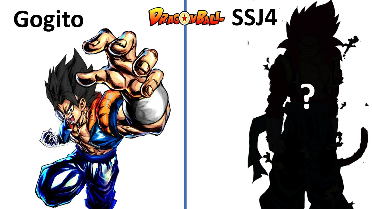 Dragon ball Characters in Super Sayan 4 form