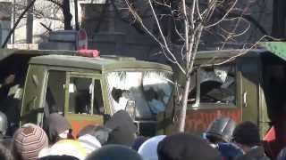 Война на  Шелковичной Евромайдан 18 02 14