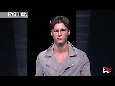 EMPORIO ARMANI Spring Summer 2013 Menswear Milan - Fashion Channel