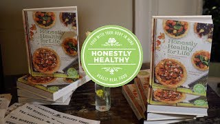 Honestly healthy for life cookbook | book launch with natasha corrett