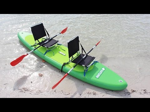 12' Saturn SUP365 iSUP Paddle Board / Sit-On-Top Kayak