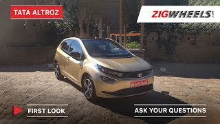 Tata Altroz Walkaround | Features, Engine Details & More | ZigWheels