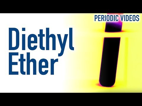 Freezing Water With Diethyl Ether - Periodic Table Of Videos