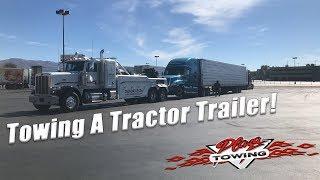 Tractor Trailer Tow NB 86 N/O Westmoreland
