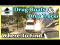 Far Cry 5 - War On Drugs: Boat & Truck Locations / Spawn Points