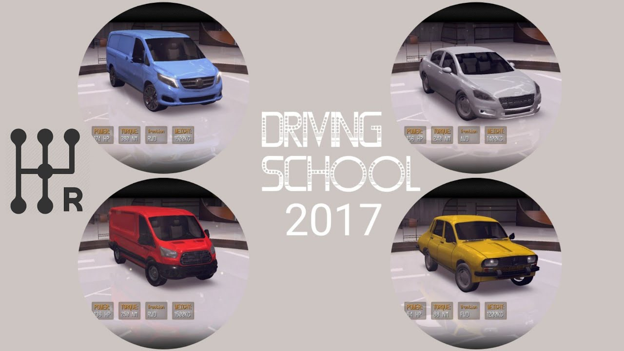 Driving School 2017 Manual Transmission With Clutch Mode Gameplay