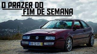 O PRAZER DO FIM DE SEMANA - VW CORRADO