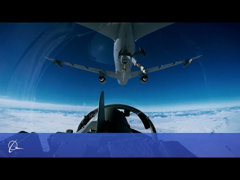 Boeing KC-46A Tanker Refuels Military Aircraft Using 3D