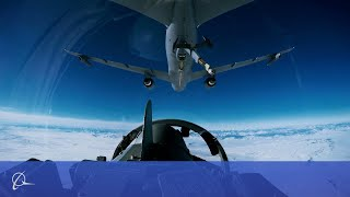 the boeing kc 46a tanker refuels military aircraft using 3d