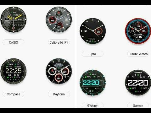 Amazfit Watch Faces - 72 skins