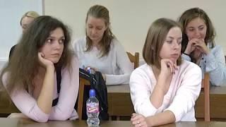 2017-08-23 г. Брест. Семинар в БрГТУ. Телекомпания Буг-ТВ.