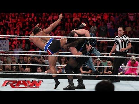 Mark Henry & Big Show vs. Luke Harper & Erick Rowan: Raw, Sept. 1, 2014