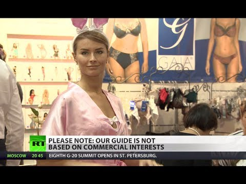 Exhibition of underwear kicks off in Moscow