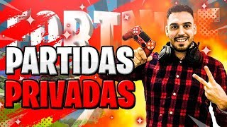 🔴 PARTIDAS PRIVADAS FORTNITE CONSIGUE PAVOS - itstole