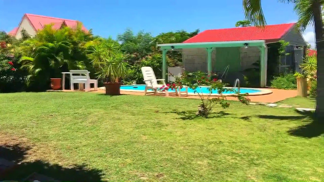 Location Guadeloupe maison avec piscine Nicoles house  YouTube