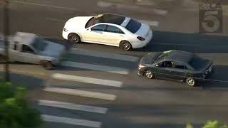 Breath Stealing High Speed Chase - Ends in a Parking Garage