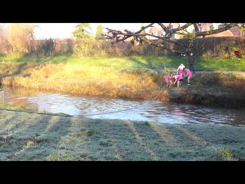 Boxing day fun on the River Foss