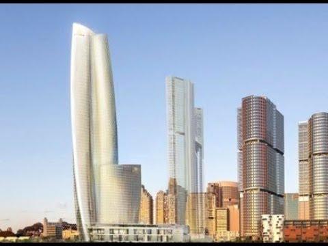 Sydney( Australia) Amazing Downtown Mega Project &  Future 6 Star Hotel