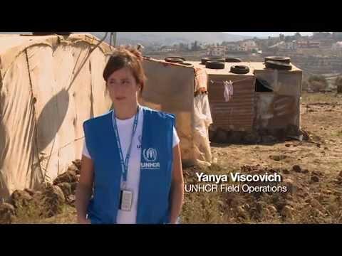 Meet Yanya Viskovich: UNHCR worker in Lebanon
