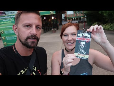 Her First Trip To Howl-O-Scream 2018 At Busch Gardens Tampa!   Fright Feast, House Reviews & More!