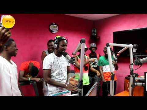 Yaa Pono Freestyle On HipHopGh Pt I [UrbanPhaceTV]