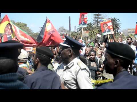 LUSAKA - UPND CAMPAIGN - UKZAMBIANS - ELECTIONS 2011