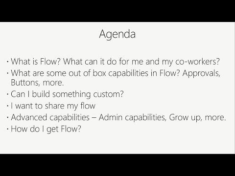 Automate workflows and enable modern approvals with Microsoft Flow - BRK2306