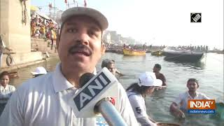 Ganga cleaning campaign launched in Varanasi