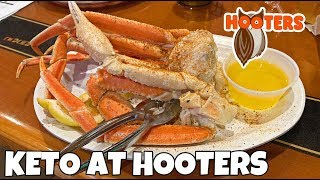 hooters on a keto diet