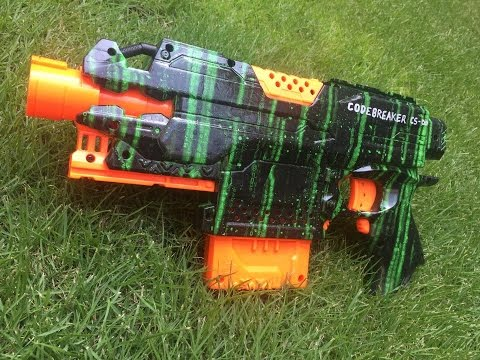 Nerf Mod: The Codebreaker Stryfe (And Some Lessons in Imperfection)